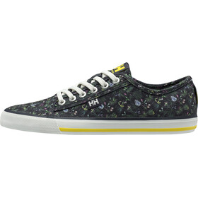 Helly Hansen Fjord Canvas V2 Zapatillas Mujer, graphite blue/off white/dandelion